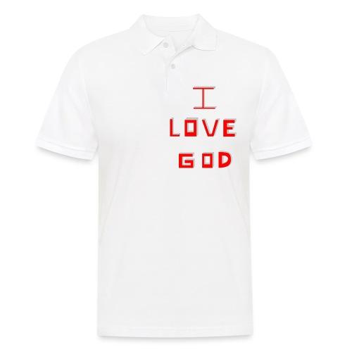 I LOVE GOD - Polo hombre