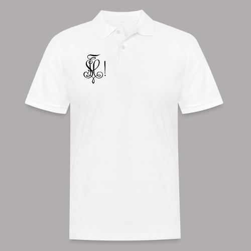 Zirkel, schwarz (vorne) - Männer Poloshirt