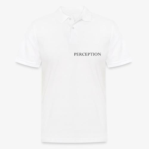 PERCEPTION NOIR - Polo Homme
