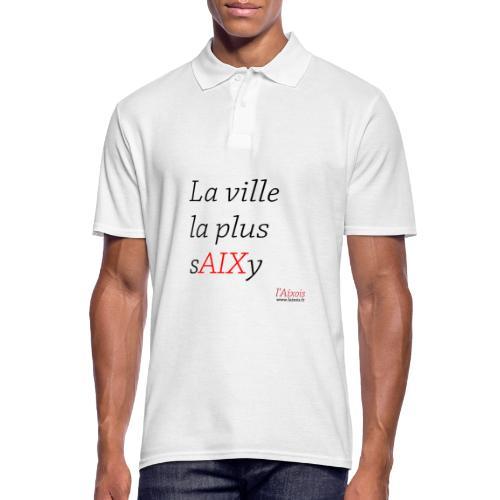 LA VILLE LA PLUS SEXY - Polo Homme