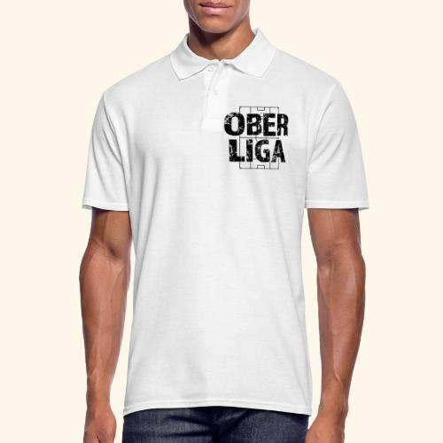 OBERLIGA im Fußballfeld - Männer Poloshirt