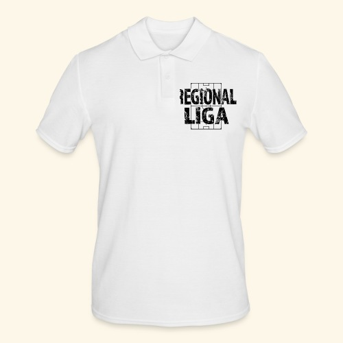 REGIONALLIGA im Fußballfeld - Männer Poloshirt