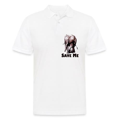 Elefant - SAVE ME - Männer Poloshirt
