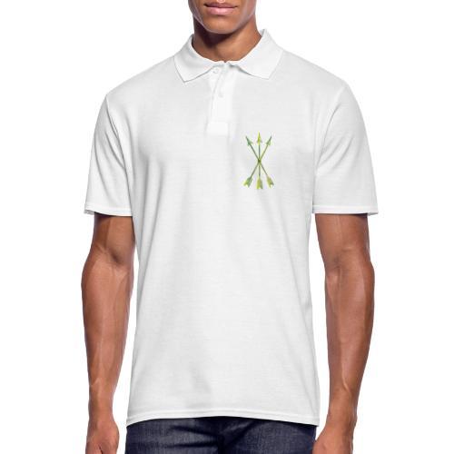 Scoia tael emblem green yellow - Men's Polo Shirt