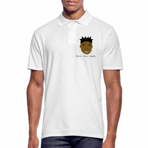 jesus loves myselfie - Männer Poloshirt