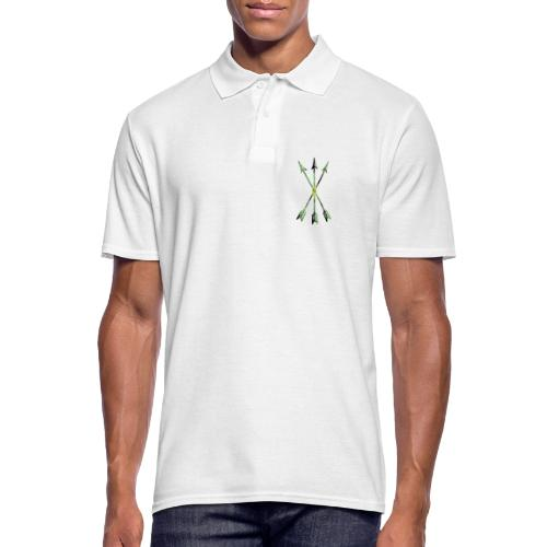 Scoia tael emblem green yellow black - Men's Polo Shirt