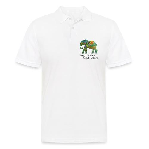 Save The Last Elephants - Männer Poloshirt