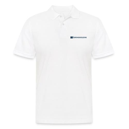 Gruenderszene_Logo_CMYK_4 - Männer Poloshirt