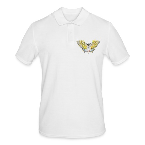 Butterfly color - Polo da uomo