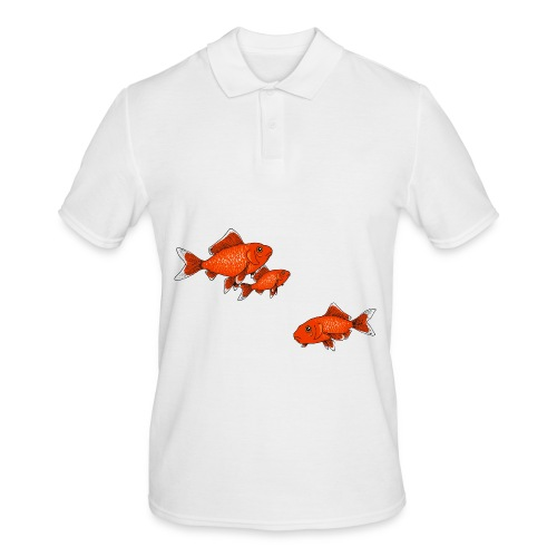 Poissons rouges - Polo Homme