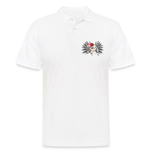 Love, Peace and Hope - Liebe, Frieden, Hoffnung - Männer Poloshirt