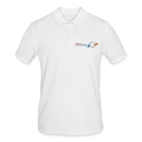 Zoology Department (small & bright) - Men's Polo Shirt