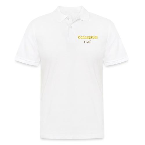 Konzeptionelle kaffee - Männer Poloshirt