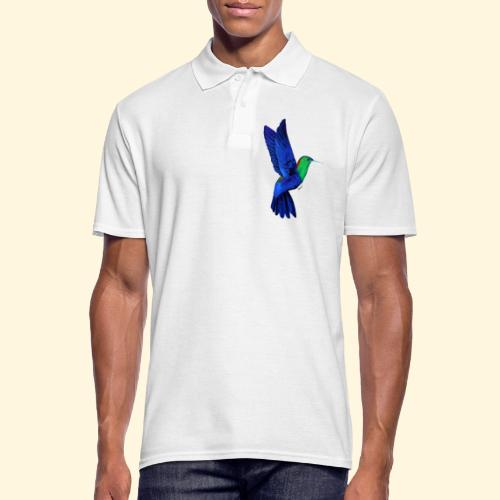 Colibri bleu et vert - Polo Homme