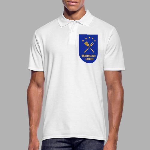 EU Bratenschutz-Experte Dienstabzeichen (blau) - Männer Poloshirt