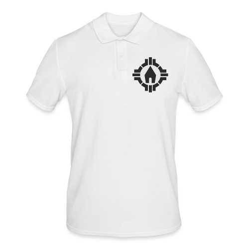 Schönstatt Logo SW - Männer Poloshirt