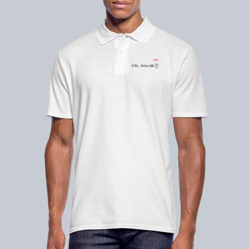 CAL. 6mm BLACK - Männer Poloshirt