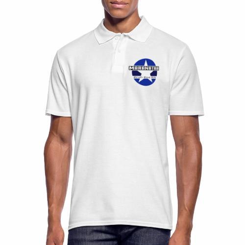 maranatha blau-braun - Männer Poloshirt