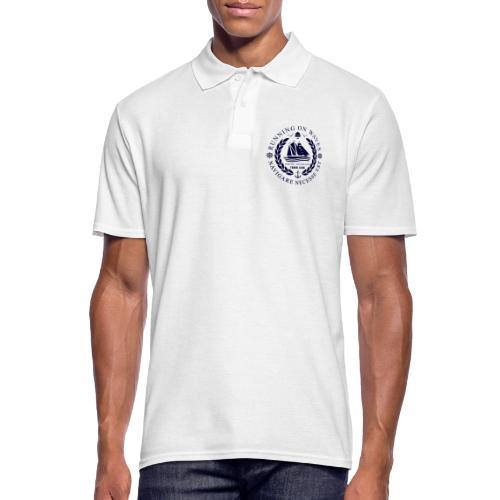 RUNNING ON WAVES - Men's Polo Shirt