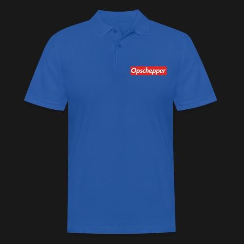 Opschepper Classic (Rood) - Mannen poloshirt