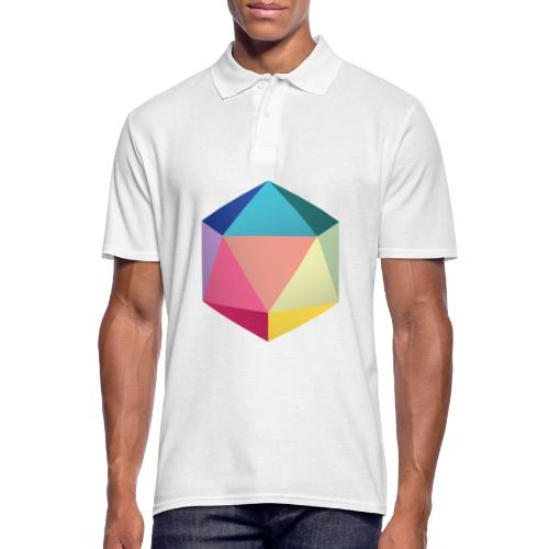 Colourfull d20 - D&D Dungeons and dragons dnd - Polo Homme