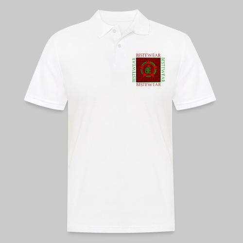 #Bestewear - Royal Line (Green/Red) - Männer Poloshirt
