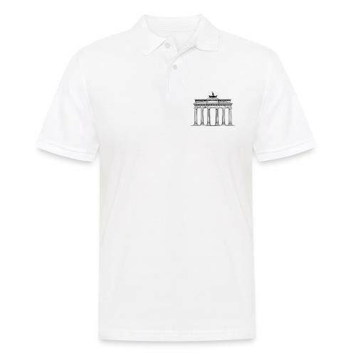 Brandenburger Tor Berlin Victoria Streitwagen - Männer Poloshirt
