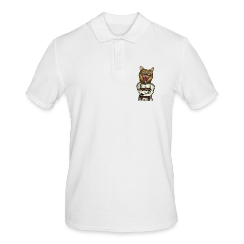 Crazy Cat - Polo Homme