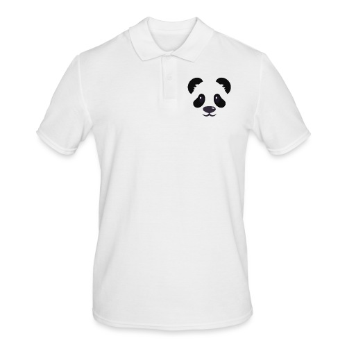 Panda émoticône - Polo Homme