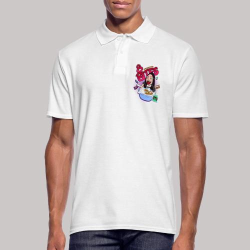 8 Bites Cereal Box Design - Men's Polo Shirt