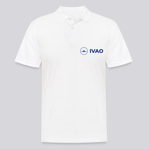IVAO (Logo bleu complet) - Polo Homme