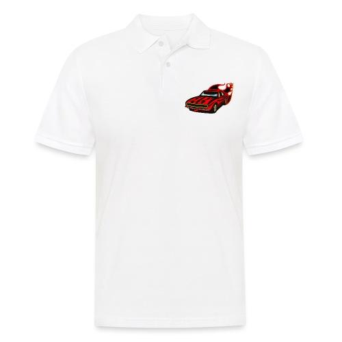 auto fahrzeug rennwagen - Männer Poloshirt
