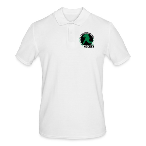 I'd Rather Be Watching Hockey - Men's Polo Shirt
