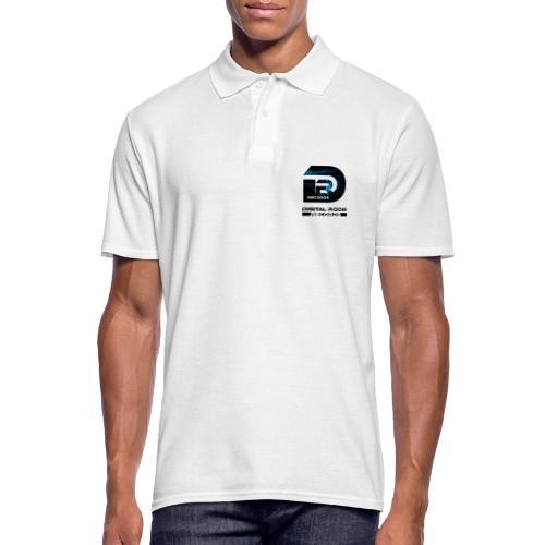 Digital Room Records Official Logo effect - Men's Polo Shirt