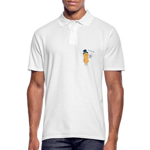 Erdnuss - Männer Poloshirt