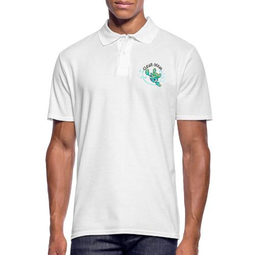 Clean Ocean - Men's Polo Shirt