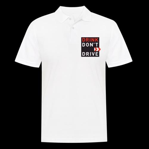 DRINKDONTDRIVE - Männer Poloshirt