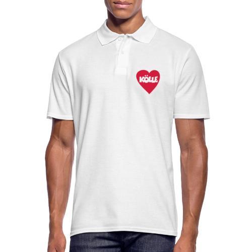 I Love Kölle - Ein Herz für Köln - Männer Poloshirt