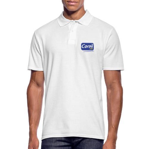 Logo bleu - Polo Homme
