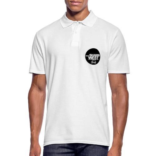 SHAWN WEST BUTTON - Männer Poloshirt