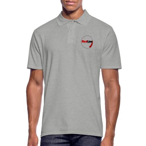 RedLine Logo - Men's Polo Shirt
