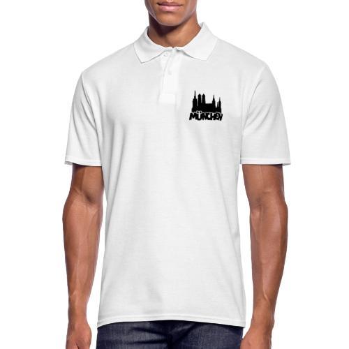 München Skyline - Männer Poloshirt