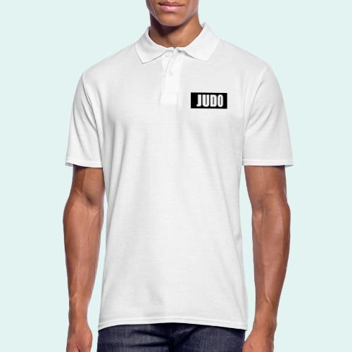 Judo Schwarz DAN - Männer Poloshirt