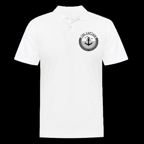 The Captain - Anchor - Männer Poloshirt