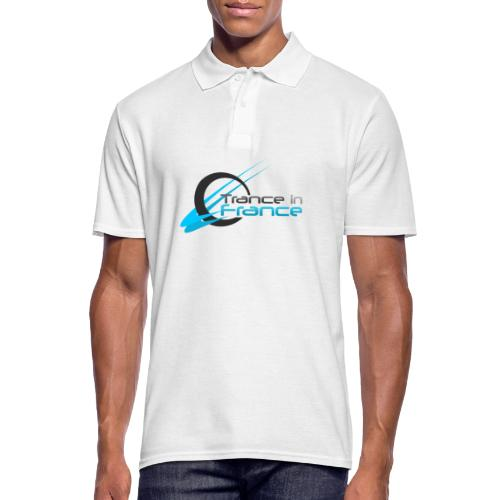 Trance In France White - Large Logo - Polo Homme