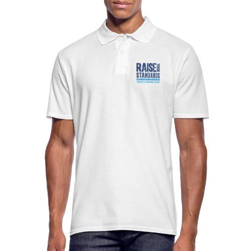 RAISE YOUR STANDARDS FC TEXTURE - Men's Polo Shirt