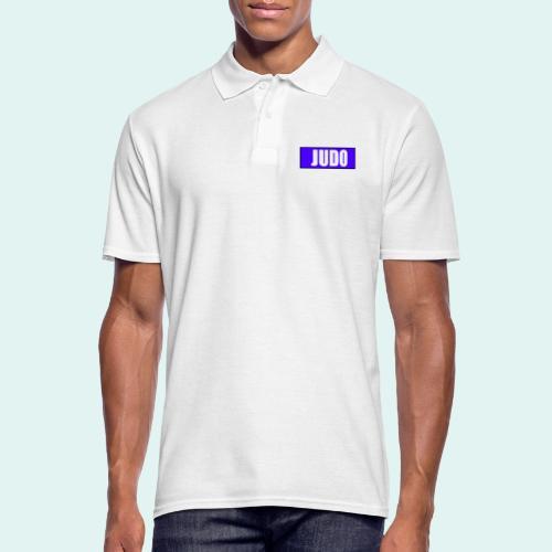 Judo Blau 2. Kyu - Männer Poloshirt