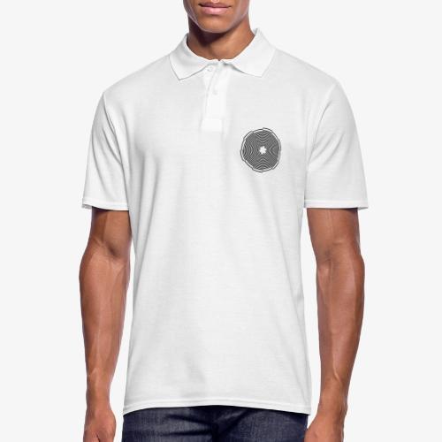 Abstract Circle - Männer Poloshirt
