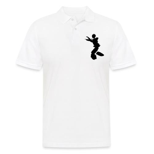 Wing Chun / Kung Fu Tusche Figur VEKTOR - Men's Polo Shirt