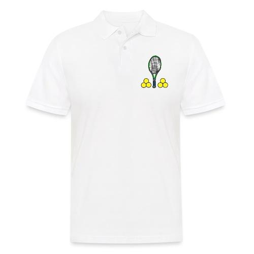 We love tennis - Männer Poloshirt